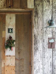 Log cabin door goals