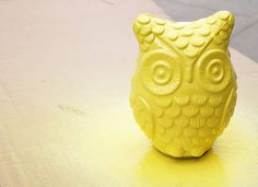Please Note: DIY: Simple Upcycled Owl