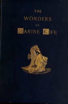 Via heaveninawildflower.tumblr.com Cover of 'The Wonders of Marine Life' - published 1894 by D. Appleton and company   archive.org