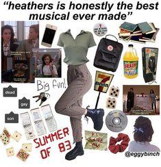 niche meme aesthetic heathers retro musical eighties Fashion Guys, Grunge Fashion, 90s Fashion, Fashion Models, Fashion Outfits, Retro Outfits, Grunge Outfits, Cool Outfits, Vintage Outfits