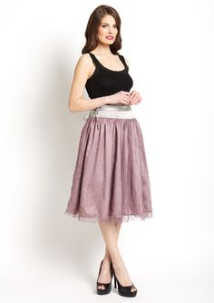 RYU Knee-Length Tulle Skirt