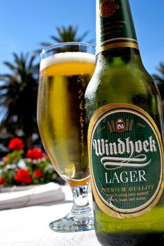 Windhoek Lager! Close to mothers milk for some of us. YOU SHOULD TRY IT, IT IS ONE OF THE BEST