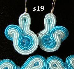 flov design: SKY soutache earring