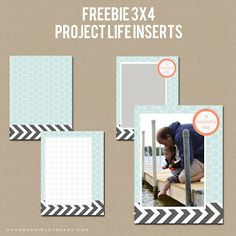 Freebie Friday: 3x4 Project Life Inserts | A Vegas Girl at Heart