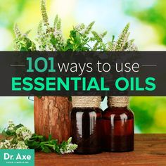 There are so many uses for essential oils. Lavender is one of the most universal and has 37 different uses listed in this article by Dr. Axe.