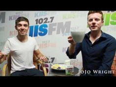 Nathan Sykes of The Wanted teaches Jo Jo Wright how to make the perfect cup of tea via youtube.com