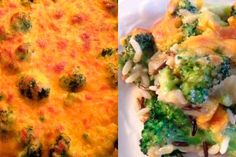 Broccoli, Cheddar and Wild Rice Casserole  Serves 4 as a generous side   3 tablespoons butter ½  large onion, diced Salt 2/3 cup uncooked wild rice blend, rinsed 1 pound broccoli  Click Here for the full recipe: http://www.q99fm.com/BreakfastClub/FDT2014.aspx