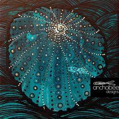 17/100 from under the sea ... 17 de 100 del fondo del mar ... #THE100DAYPROJECT #100daysof13x13art #art #proyecto100dias #artist #artgallery #madridarte #galeriaespaña #100days #acryliconboard #artista #visualartist #azul #acrilicosobremadera #arte #pintando #blue #design #diseño #nature #bluegreen #azulverdoso #urchin #erizo