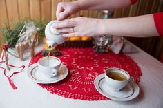 Cosy New Year in red - some tea?