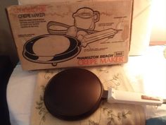 Hamilton Beach Scovill Crepe Maker, vintage kitchenware, crepe maker, Hamilton Beach, by TherustickitchenShop on Etsy