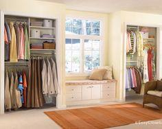 55 Ideas For Wall Closet Design Window Seats Girls Bedroom Storage, Master Bedroom Closet, Bedroom Wall, Bedroom Benches, Bedroom Closets, Upstairs Bedroom, Closet Built Ins, Closet Bench, Closet Wall