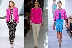 Spring 2013 Runway Trend: Hot Pink Jackets