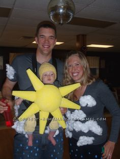 Partly Cloudy With a Chance of Rain Family Costume ..