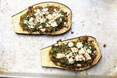The Moroccan herb and spice combination here - cumin, paprika, Aleppo pepper and coriander - provides a wealth of aromatic flavors. Aleppo Pepper, Spice Combinations, Coriander, Eggplant, Vegetable Pizza, Camembert Cheese, Wealth, Moroccan, Spices
