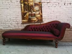 Chaise lounge- love this shape for my livingroom