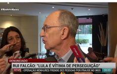 Galdino Saquarema 1ª Página: Para Rui Falcão eles querem interditar Lula