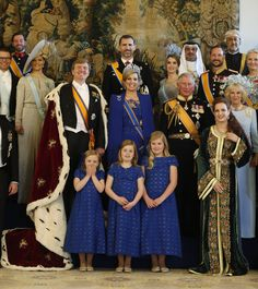 The Royals on the inauguration day of King Willem Alexander and Queen Maxima