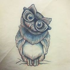 owl with glasses tattoo - Google Search