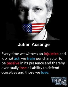 Jullian Assange #Wikileaks #occupy