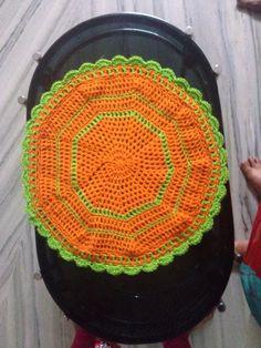 Crochet tablematt