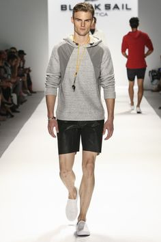 Nautica Spring 2014 Men's Collection... not a fan of those shorts, but I like the hoodie.
