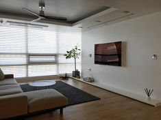 Minimal Home, Architect Design, Blinds, Minimalism, Lights, Living Room, Interior Design, House Styles, Wood
