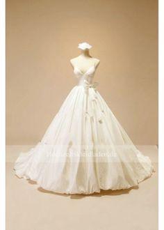 Spaghettiträger V-Ausschnitt Brautkleid Bridal Wedding Dresses, White Wedding Dresses, Bridesmaid Dresses, Prom Dresses, Flower Dresses, Ball Gowns, Evening Dresses, Trending Outfits, Vows