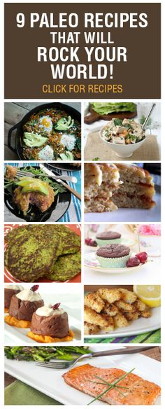 Check out these fab recipes and get your Paleo on! John is starting this diet...not certain why but it struck a cord with him!