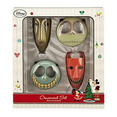 Tim Burton's The Nightmare Before Christmas Ornament Set