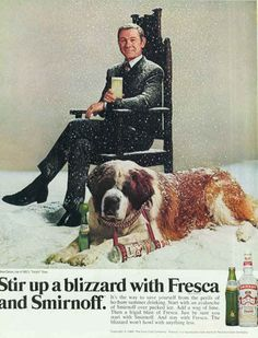 0 Johnny Carson in ad for Smirnoff and Fresca