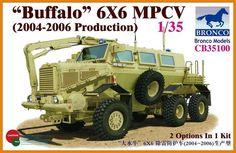 BOM35100 1:35 Bronco Buffalo 6X6 MPVC