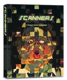 A 3D look at the cover art for the upcoming Criterion Collection release of David Cronenberg's Scanners