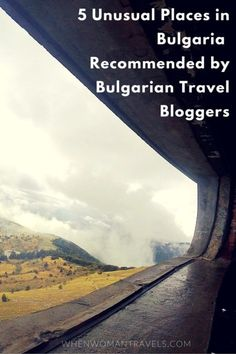 Four Bulgarian travel bloggers shared their less known and unusual favorite places in Bulgaria. You will be surprised, as I was! And I thought I knew a bit about Bulgaria!