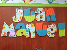 Imagen relacionada Arte Country, Pintura Country, Quilling, Nursery Letters, Country Paintings, Do It Yourself Projects, Tole Painting, Wooden Letters, Lettering Design