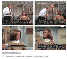 """Truly, I hate it when people say, """"ohhh... You'll change your mind."""" No... F#¢k you. Ive felt this way since I was 4!! - """"Mary Tyler Moore"""""""
