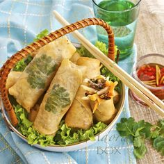 ADORA's Box: LUMPIANG PRITO (FRIED VEGETABLE SPRING ROLLS)