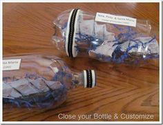 Niña, Pinta & Santa Maria craft #ChristopherColombus