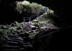 Ape caves in Washington