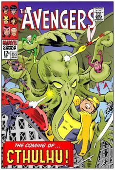 ¡Los Vengadores contra Cthulhu!