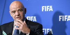 Fifa president Gianni Infantino he has support for 48 team World Cup