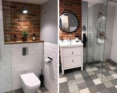 Bathroom Design Small, Bathroom Interior Design, Small Downstairs Toilet, Steampunk Home Decor, Bathroom Toilets, Bathroom Inspiration, Master Bathroom, House Design, Decoration