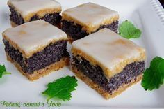 Slovak Recipes, Czech Recipes, Raw Food Recipes, Sweet Recipes, Cake Recipes, Dessert Recipes, Cooking Recipes, Something Sweet, Dessert Bars