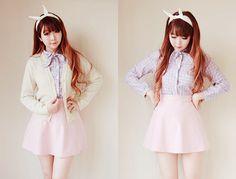 cute fashion long hair♪
