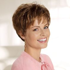 Cancer Patients Wigs, Chemo Wigs, Short Wigs, Brown Wigs, Wigs For Women - TLC
