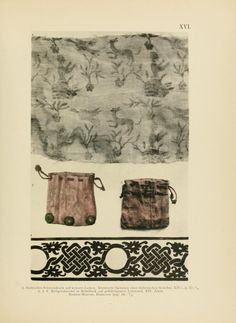 14th century printed relic bags  Reis, this is the idea I mentioned to you the other day for favors.