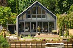 flood proof homes portfolio header images  amphibious house england