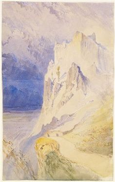 Dumbarton Castle  By John Ruskin  1838