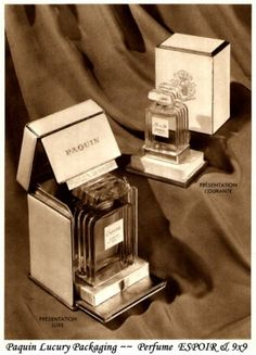 Paquin Luxury Packaging ~~  Perfume  ESPOIR & 9x9