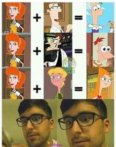 Check out the funniest memes, funny GIFs and hilarious videos that make you laugh out loud in public! Stupid Funny Memes, Funny Relatable Memes, Hilarious, Fun Funny, Memes Humor, Humor Humour, Funny Humor, Phineas Und Ferb, Phineas And Ferb Memes