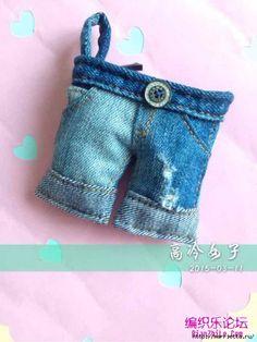 Cucire una miniatura pantaloncini borsa di jeans (13) (500x667, 173Kb)
